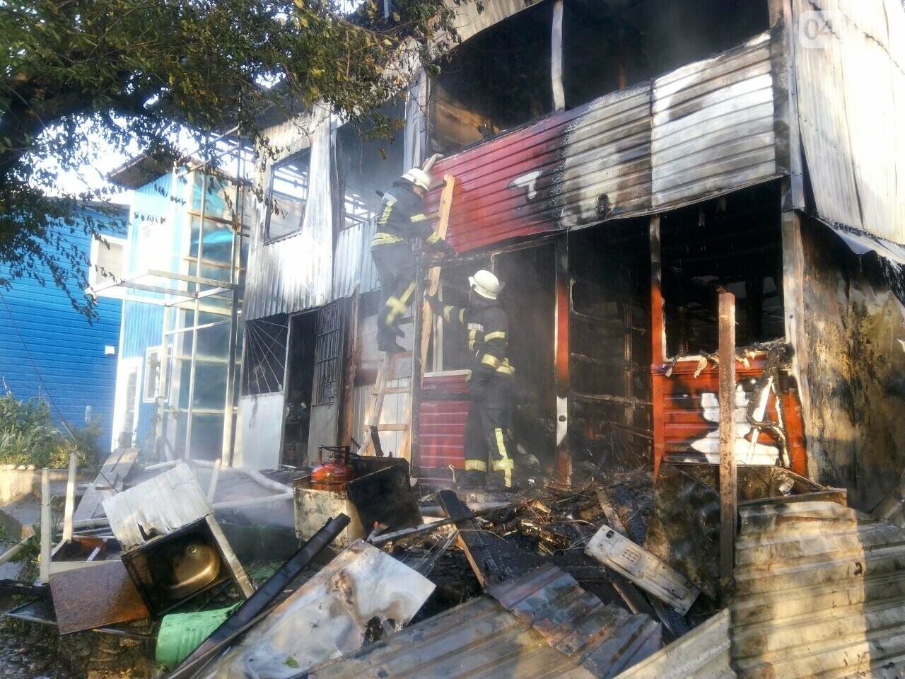 В Одессе случился масштабный пожар: горели рыбацкие домики, - ФОТО6