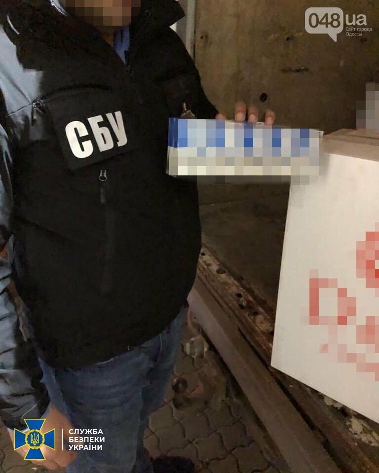 В Одесской области сотрудники СБУ задержали крупную партию контрабандных сигарет,- ФОТО0