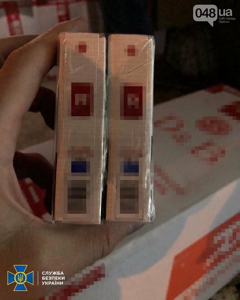 В Одесской области сотрудники СБУ задержали крупную партию контрабандных сигарет,- ФОТО1