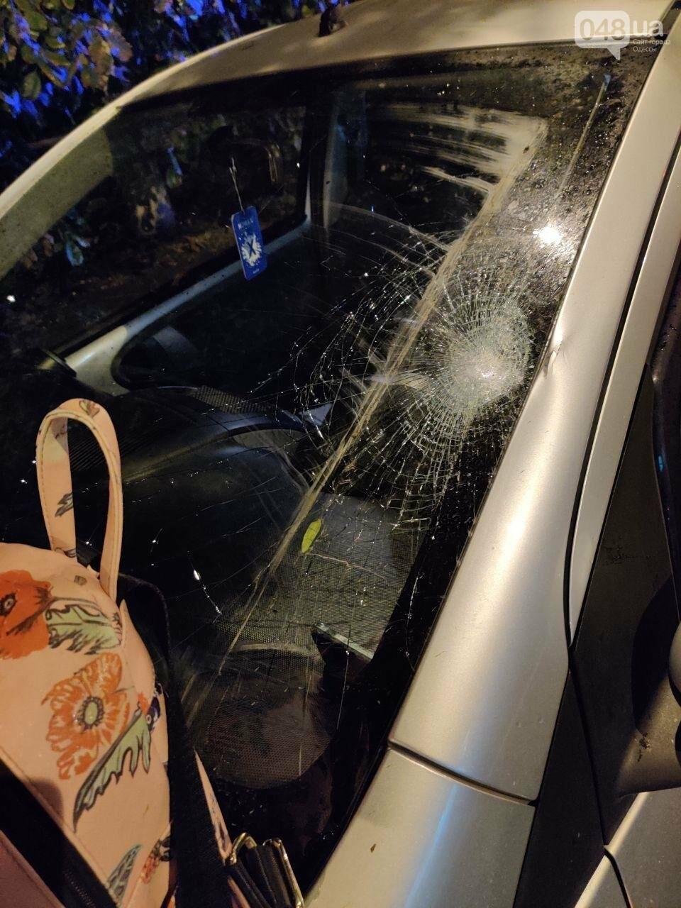 В Одессе автомобиль сбил девушку, - ФОТО3