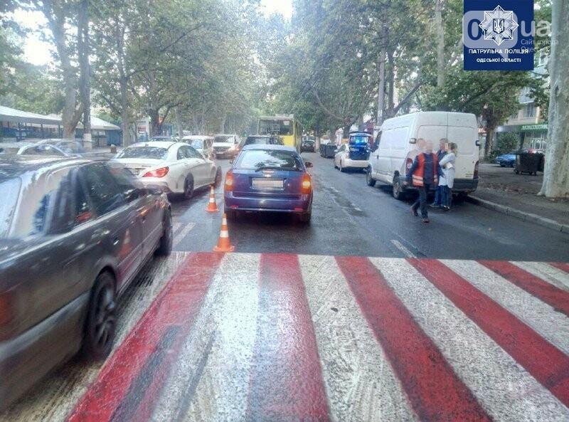 В Одессе сбили девушку на пешеходном переходе, - ФОТО, фото-1