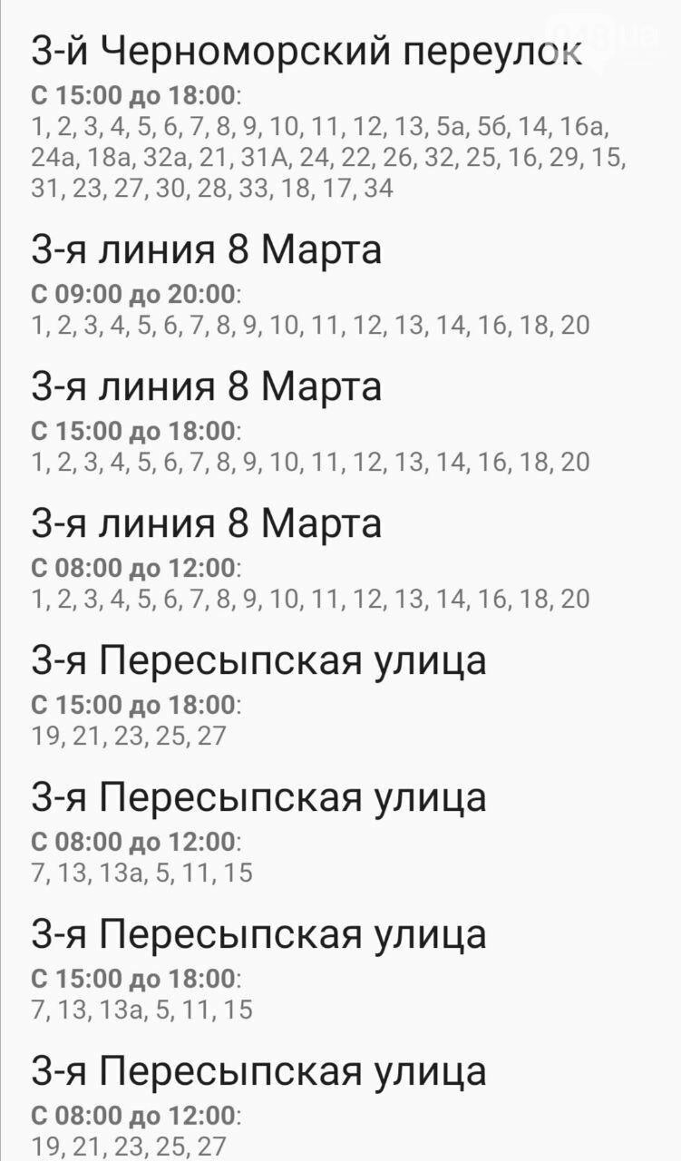 Отключения света в Одессе завтра: график на 7 октября10