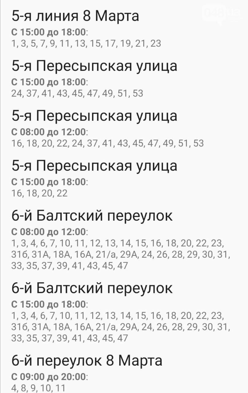 Отключения света в Одессе завтра: график на 7 октября13