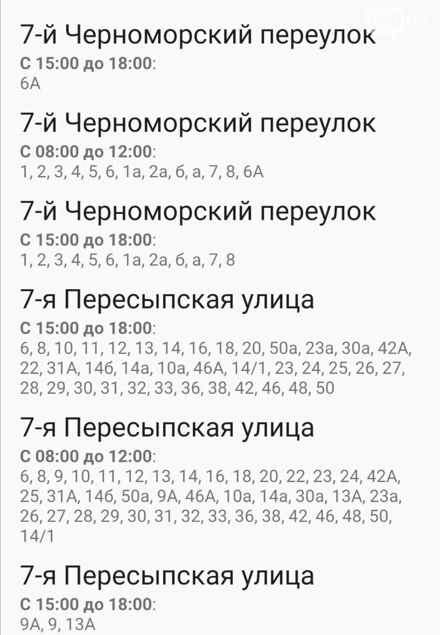 Отключения света в Одессе завтра: график на 7 октября16