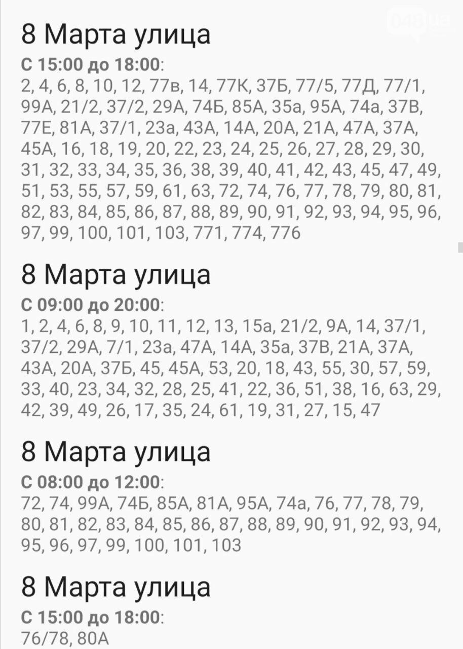 Отключения света в Одессе завтра: график на 7 октября17