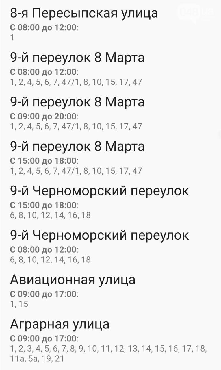Отключения света в Одессе завтра: график на 7 октября20