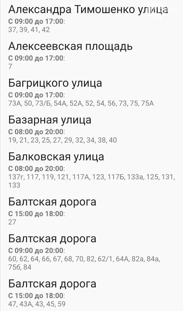 Отключения света в Одессе завтра: график на 7 октября22