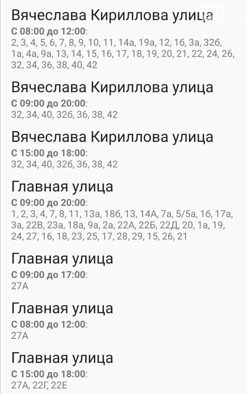 Отключения света в Одессе завтра: график на 7 октября27
