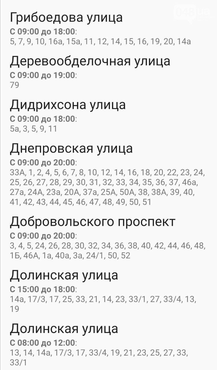 Отключения света в Одессе завтра: график на 7 октября29