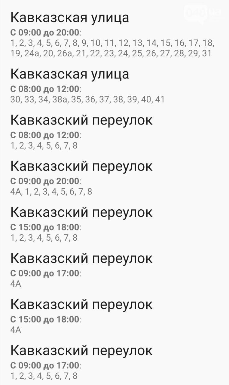Отключения света в Одессе завтра: график на 7 октября35