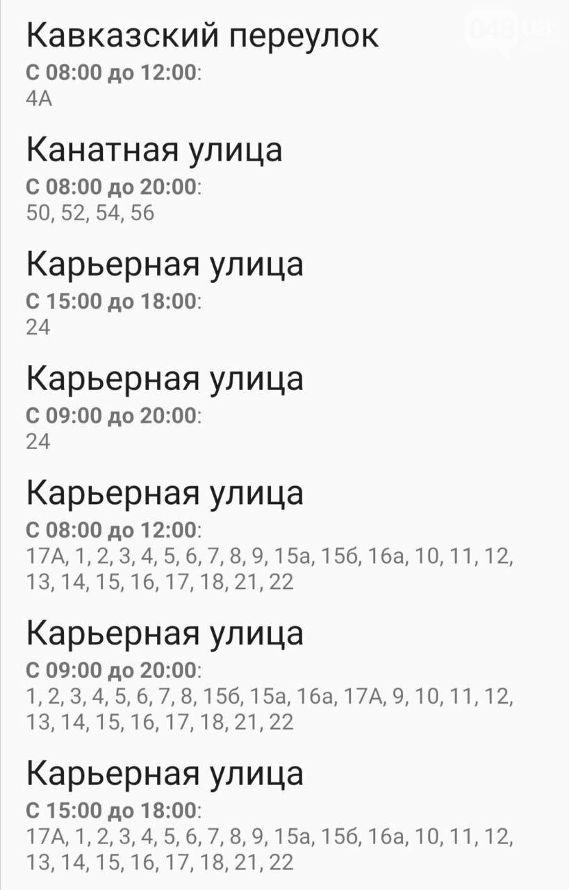 Отключения света в Одессе завтра: график на 7 октября36