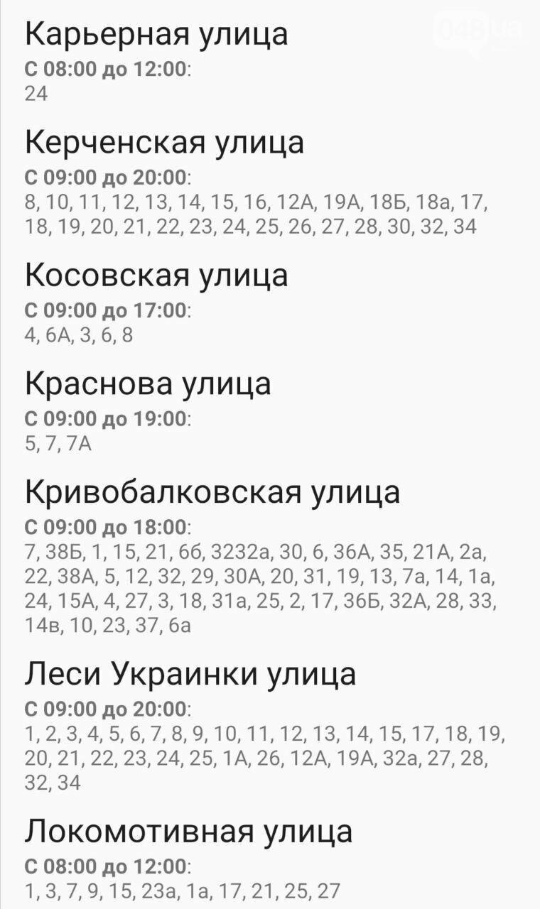 Отключения света в Одессе завтра: график на 7 октября37