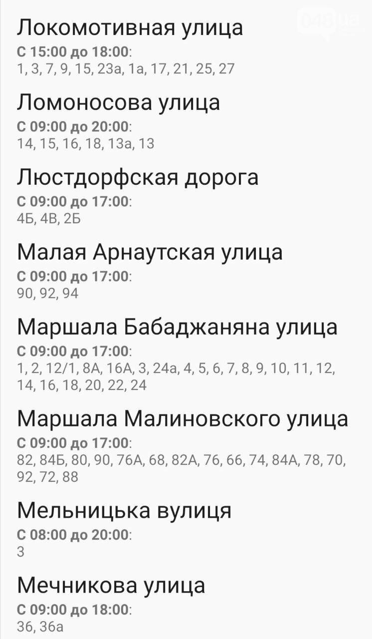 Отключения света в Одессе завтра: график на 7 октября38