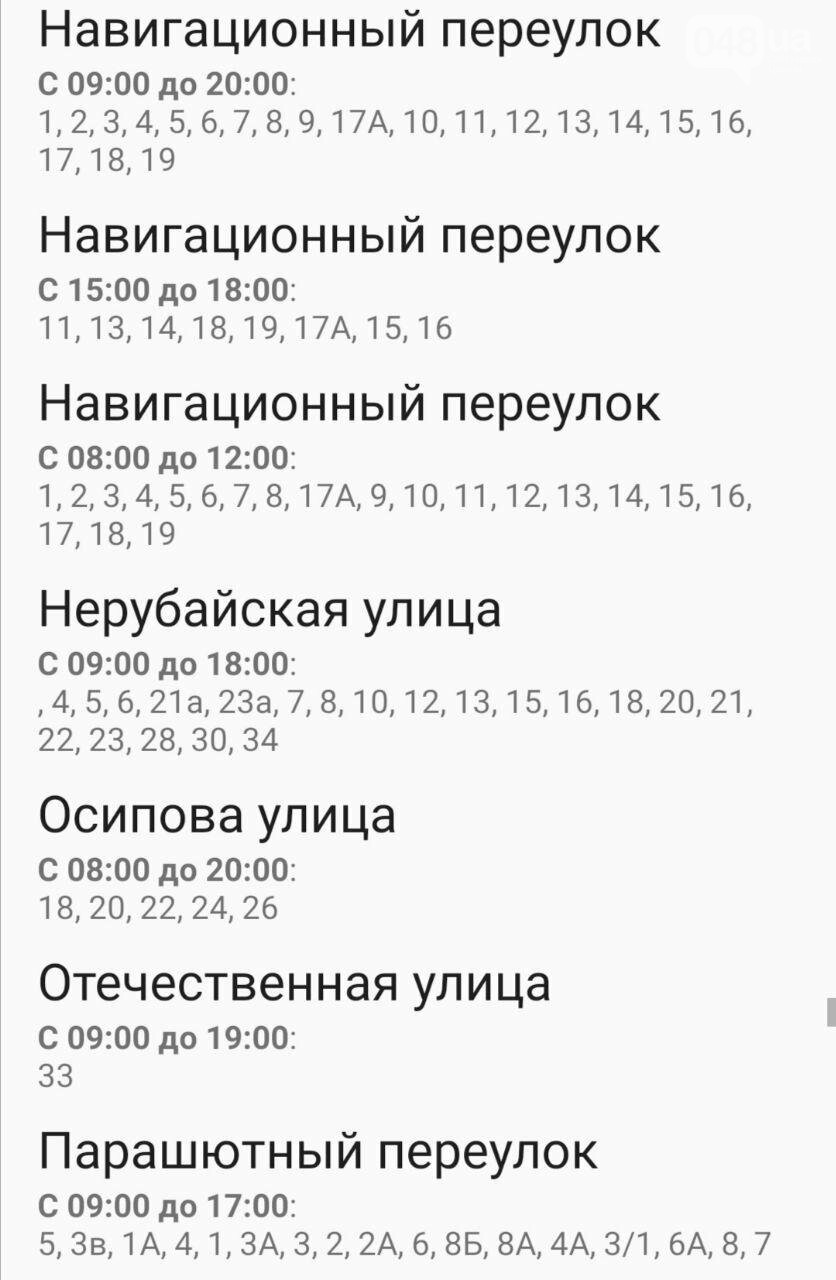 Отключения света в Одессе завтра: график на 7 октября40