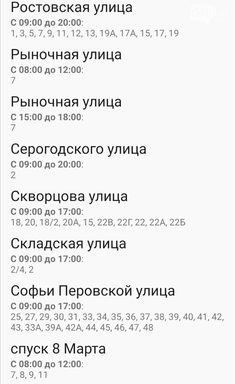 Отключения света в Одессе завтра: график на 7 октября45