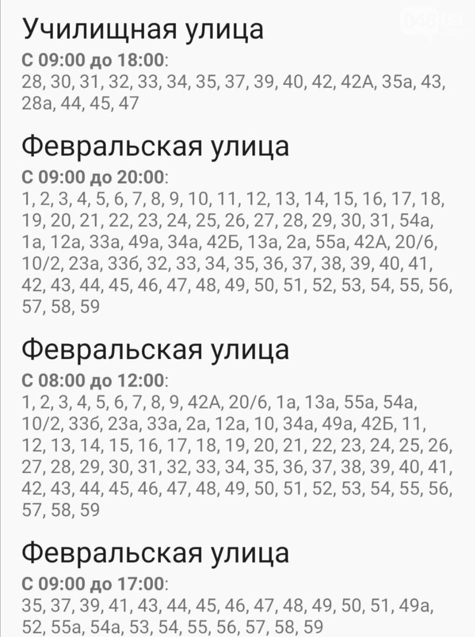 Отключения света в Одессе завтра: график на 7 октября47