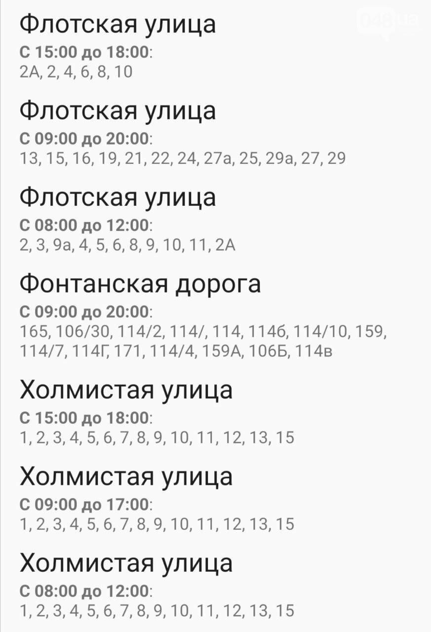 Отключения света в Одессе завтра: график на 7 октября49