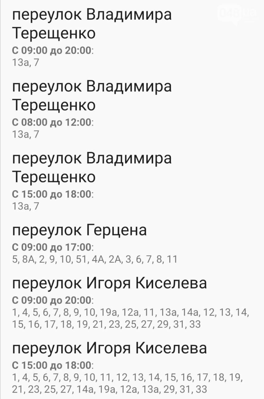 Отключения света в Одессе завтра: график на 7 октября52
