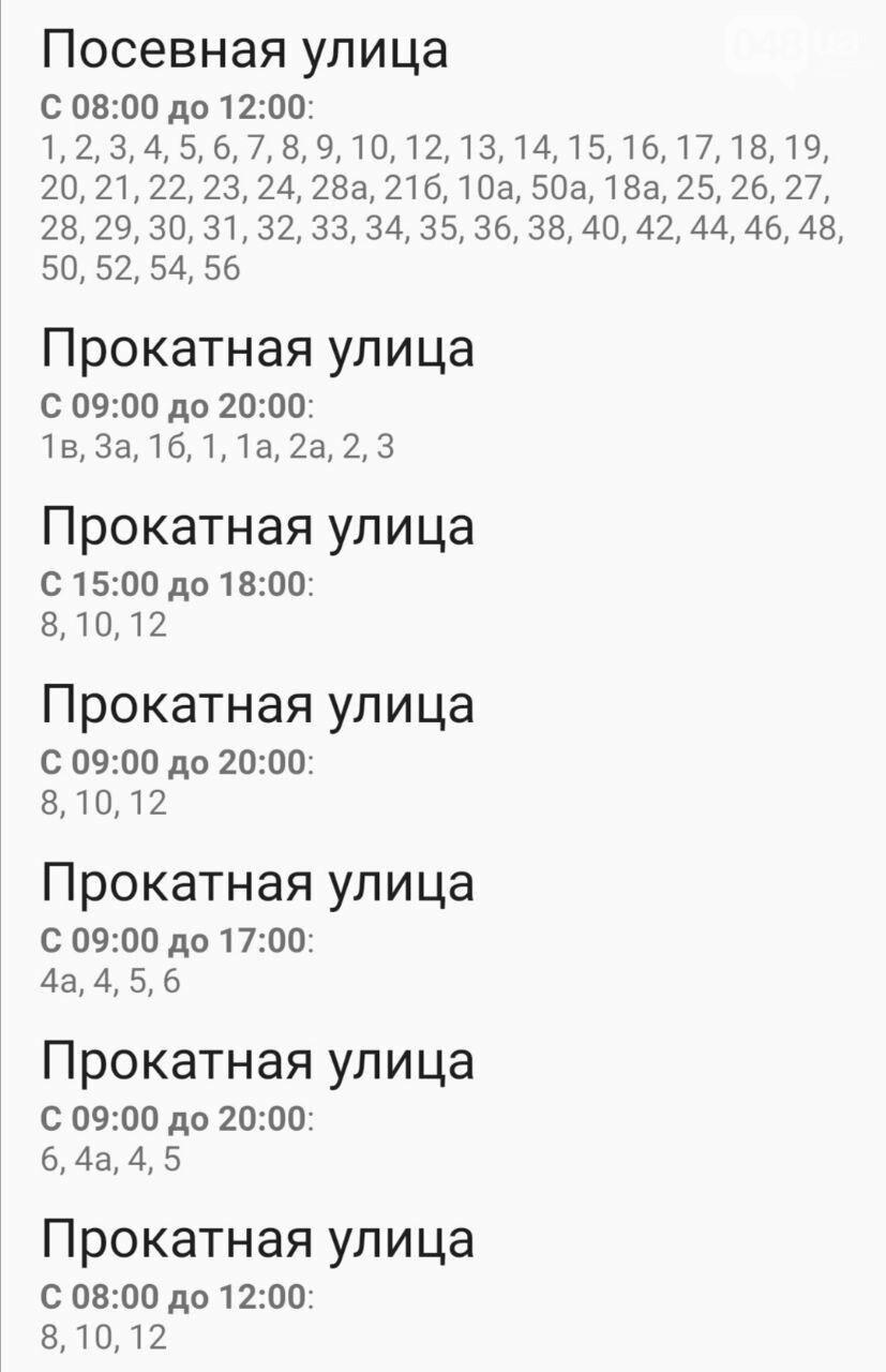 Отключения света в Одессе завтра: график на 7 октября55
