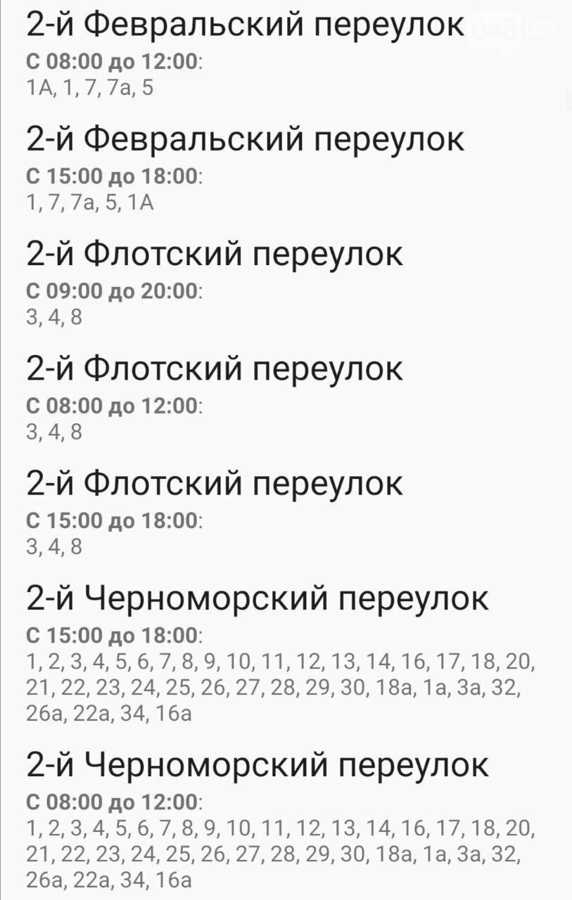 Отключения света в Одессе завтра: график на 7 октября6