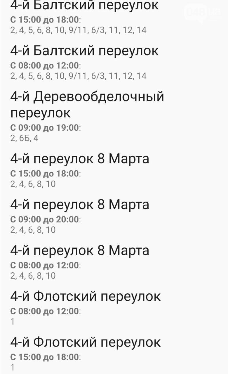 Отключения света в Одессе завтра: график на 7 октября9