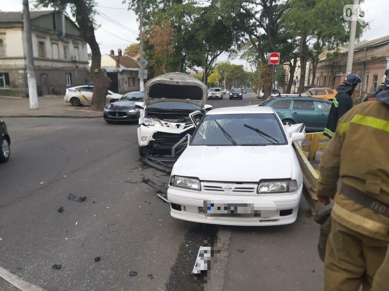В Одессе утром произошло ДТП с пострадавшими, - ФОТО1