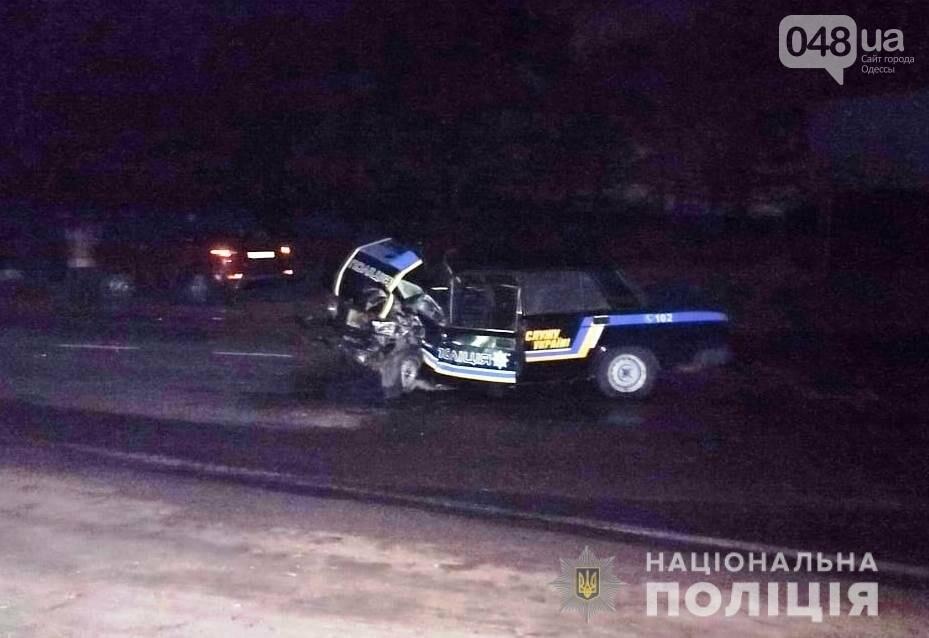 Полицейский оказался в больнице, в результате ДТП в Одесской области, - ФОТО , фото-1