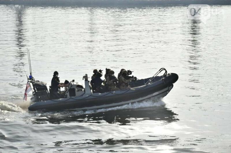 В Одессе ВСУ провели учения с коллегами из НАТО на британском эсминце, - ФОТО, фото-2