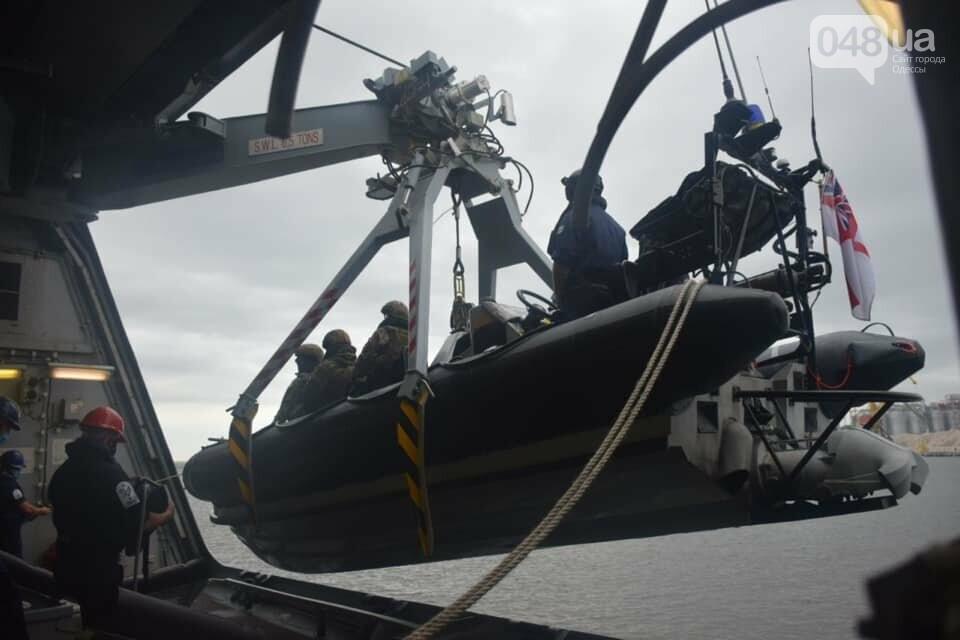 В Одессе ВСУ провели учения с коллегами из НАТО на британском эсминце, - ФОТО, фото-3