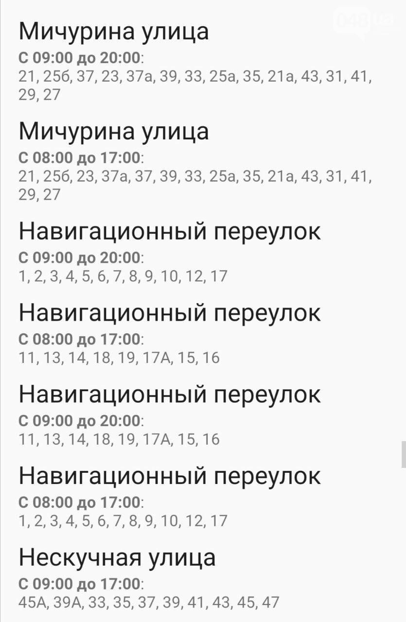 Где завтра в Одессе не будет света: график на 13 октября , фото-19