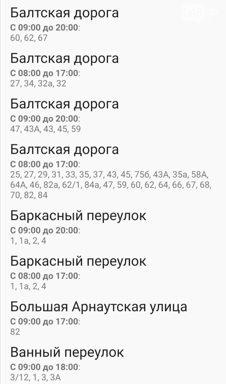 Где завтра в Одессе не будет света: график на 13 октября , фото-10