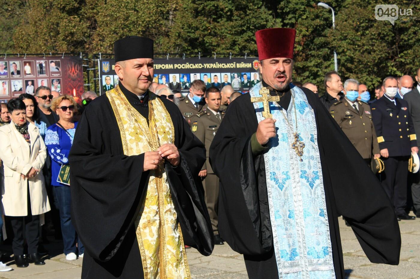 В Одессе почтили память героев, погибших на Донбассе, - ФОТОРЕПОРТАЖ, фото-11