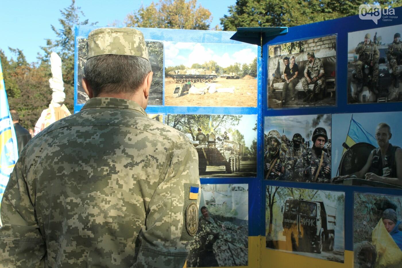 В Одессе почтили память героев, погибших на Донбассе, - ФОТОРЕПОРТАЖ, фото-13