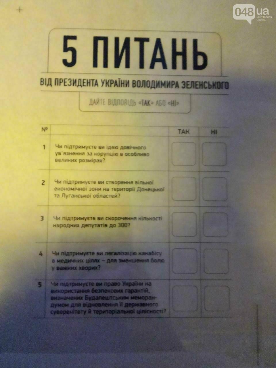 Стало известно, какие пять вопросов Зеленский вынес на общенациональный опрос 25 октября, - ФОТО, фото-1