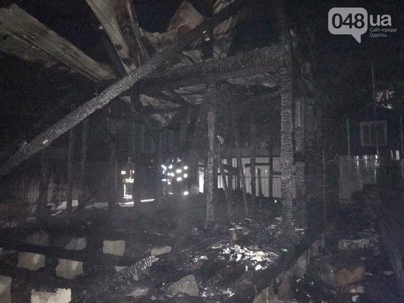 В Одесской области на пожаре погибла женщина, сгорел двухэтажный дом, автомобиль и три сарая,- ФОТО3