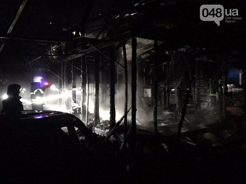 В Одесской области на пожаре погибла женщина, сгорел двухэтажный дом, автомобиль и три сарая,- ФОТО1