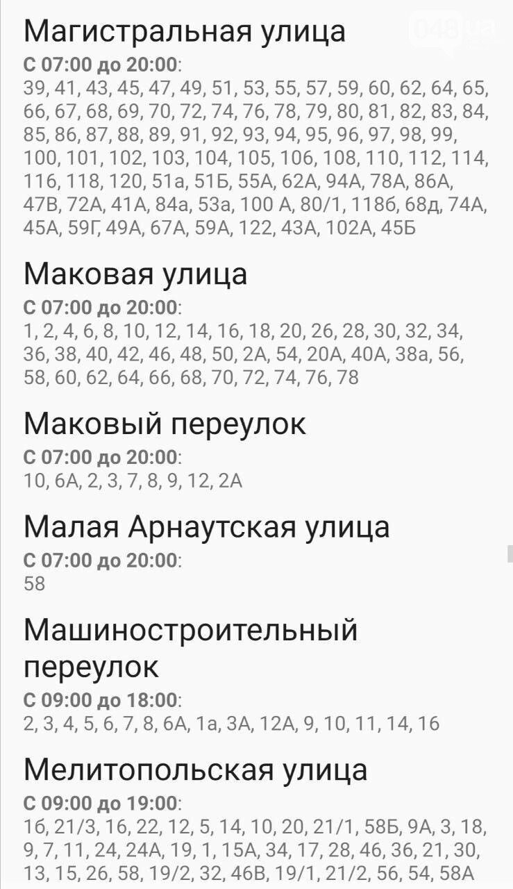 Где завтра в Одессе не будет света: график отключений на 20 октября , фото-25
