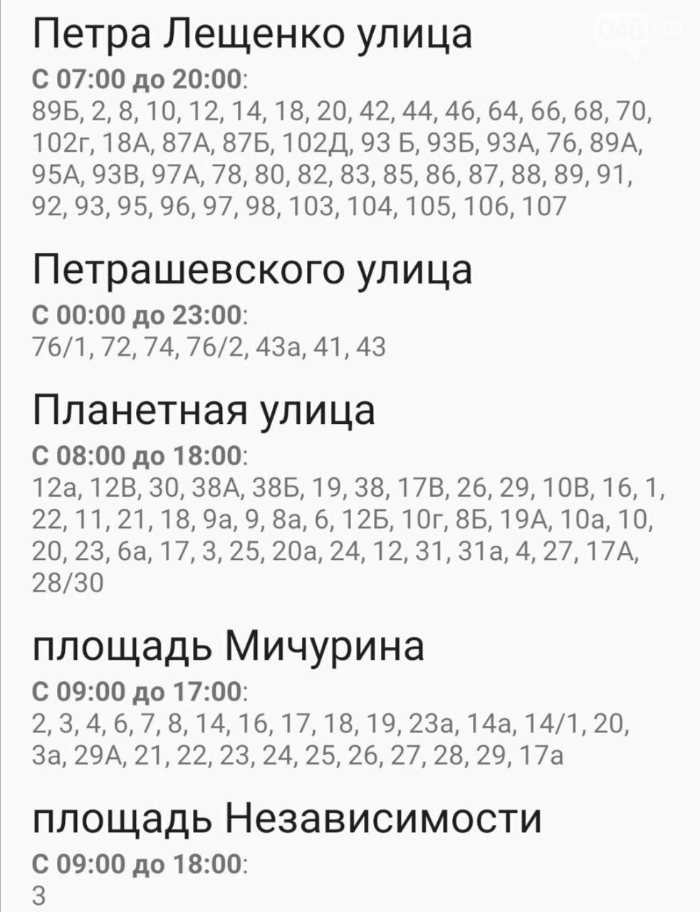 Где завтра в Одессе не будет света: график отключений на 20 октября , фото-28