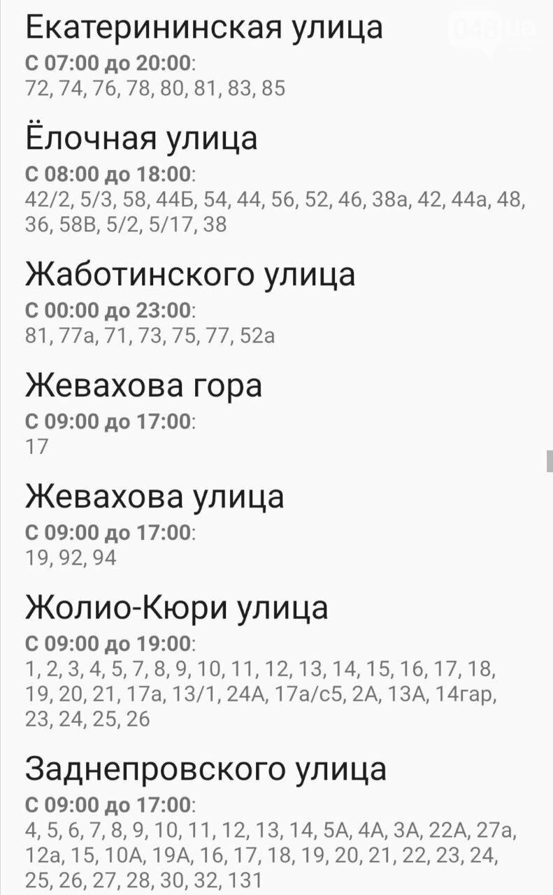 Где завтра в Одессе не будет света: график отключений на 20 октября , фото-45