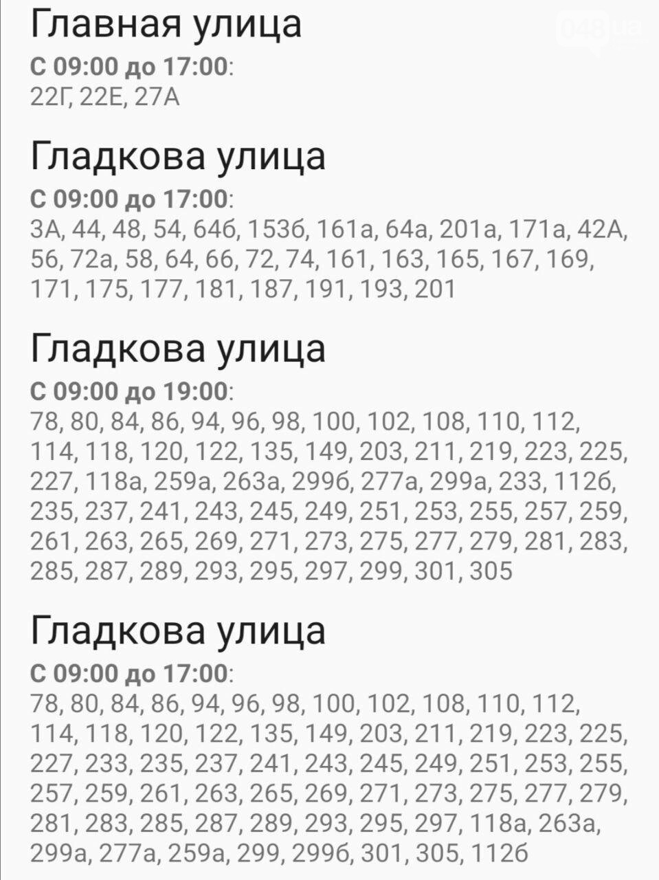 Где завтра в Одессе не будет света: график на 22 октября , фото-32