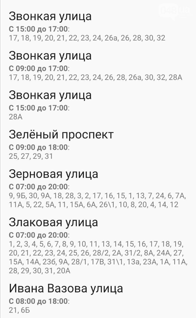 Где завтра в Одессе не будет света: график на 22 октября , фото-40