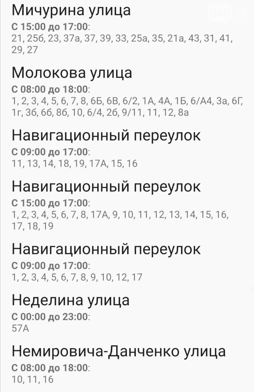 Где завтра в Одессе не будет света: график на 22 октября , фото-49