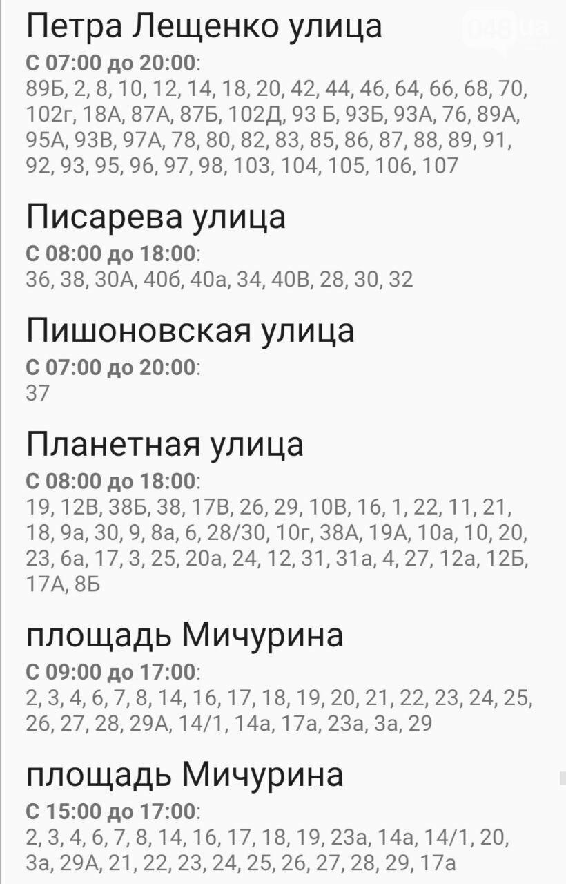 Где завтра в Одессе не будет света: график на 22 октября , фото-58