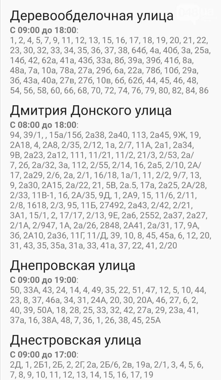 Где завтра в Одессе не будет света: график на 22 октября , фото-76