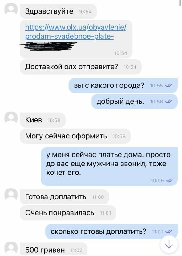 Новая схема мошенников на OLX: жительницу Одессы пытались обмануть, - ФОТО, фото-1