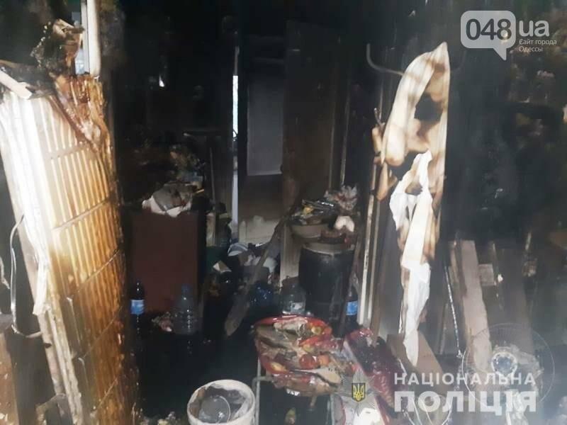 Одесские полицейские задержали мужчину, который избил племянницу и поджег квартиру сестры, - ФОТО, фото-2