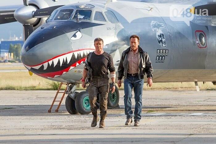 В Одесский аэропорт прилетел голливудский самолет, - ФОТО, фото-1