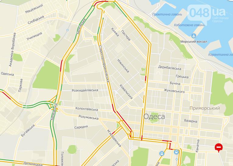 Пробки в Одессе: где трудно проехать утром, фото-3