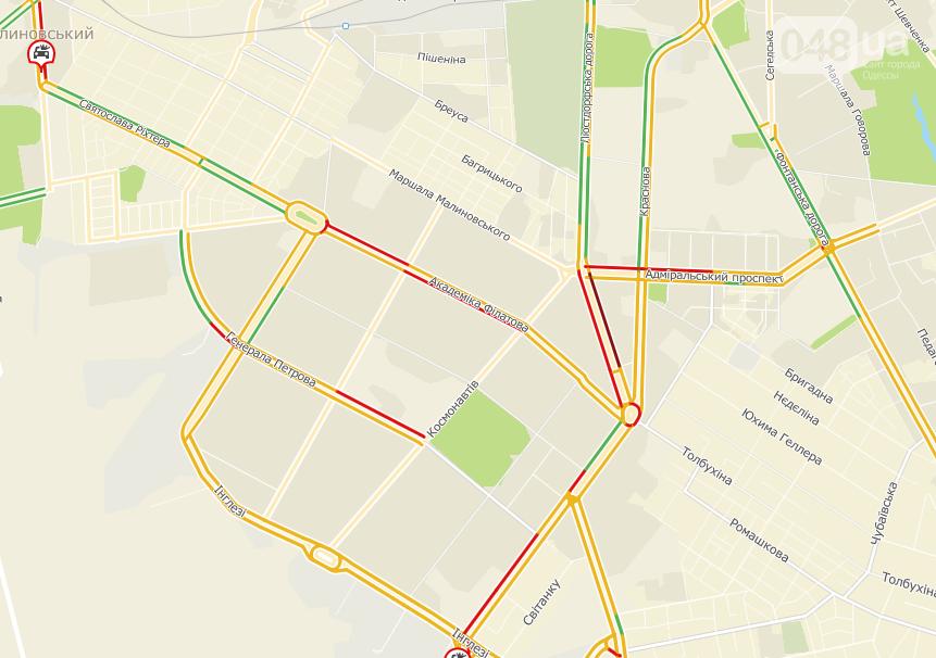 Пробки в Одессе: где сегодня будет проще обычного проехать, фото-1