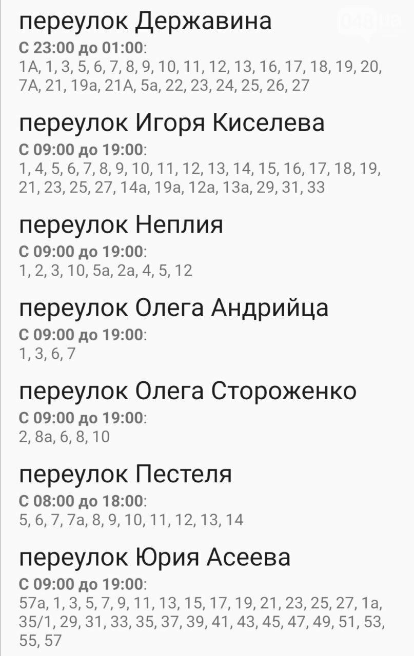 По каким адресам завтра в Одессе не будет света , фото-27